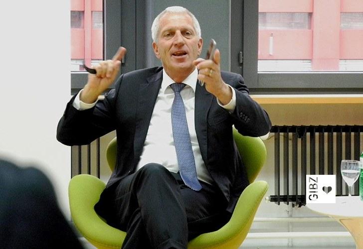 Pierin Vincenz im Gespräch am GIBZ