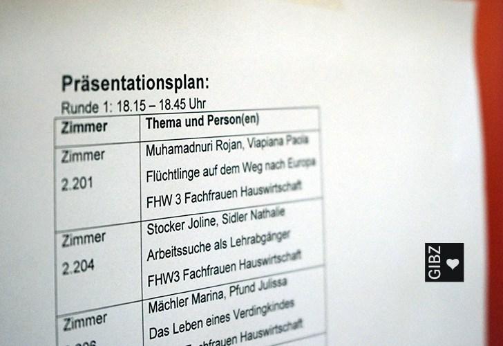 """""""Gesellenstücke"""" zum Zweiten – die öffentliche VA-Präsentation der 2- & 3-jährigen Lehren"""
