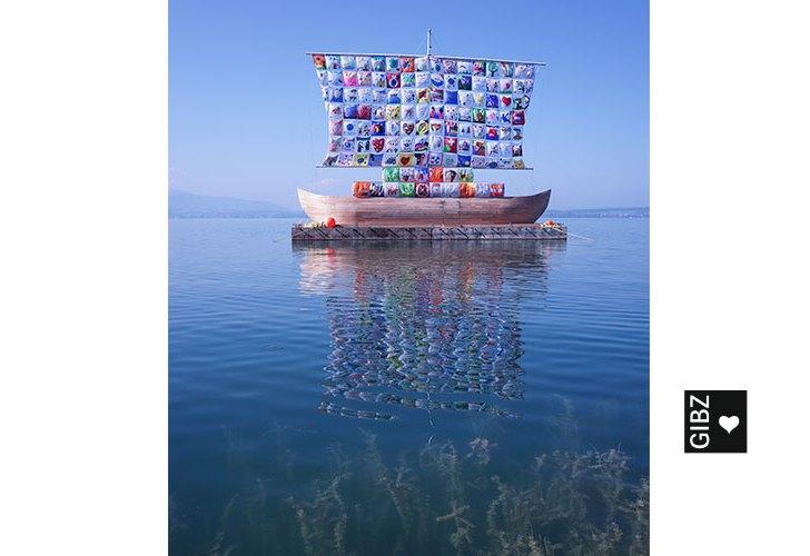 Ship of Tolerance – und so schön liegt es nun vor Anker!