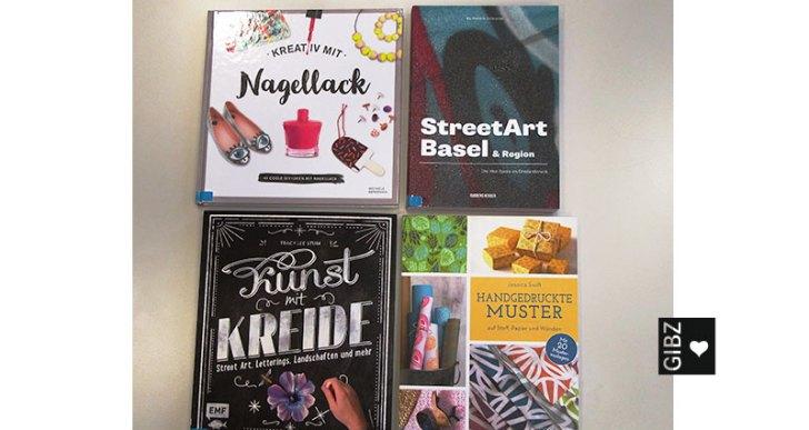 Buntes gegen den grauen Herbst – kreative Buchvorschläge aus der GIBZ-Mediathek