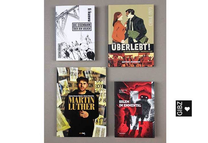 Sehens- und lesenswert – neue Graphic Novels in der Mediathek