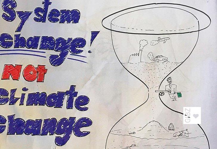 """Praktische Umsetzung des GIBZ-Schullehrplans – Teilnahme am """"Nationalen Klimastreik"""""""