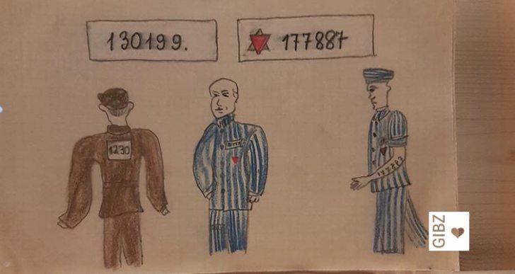 """""""gezeichnet. Die «Buchenwaldkinder» auf dem Zugerberg"""" : Ausstellungsbesuch der Klasse AF2"""