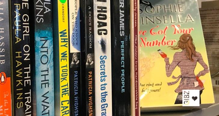 Keep calm & read on – neuer Standort für die Englisch-Romane in der GIBZ Mediathek