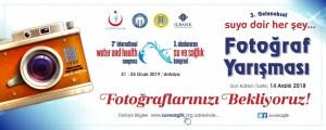 3. Uluslararası Su ve Sağlık Kongresi (21 – 25 Ocak 2019) Fotoğraf Yarışması
