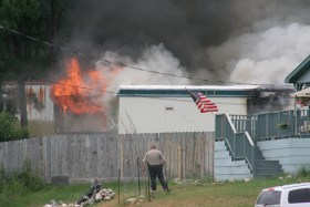 Mobile Home Fire, Custer, SD