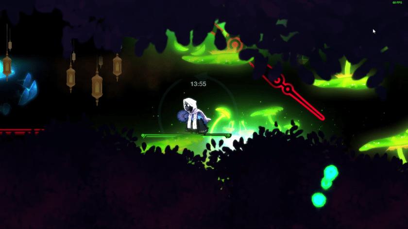 chrono ghost platforming chaos
