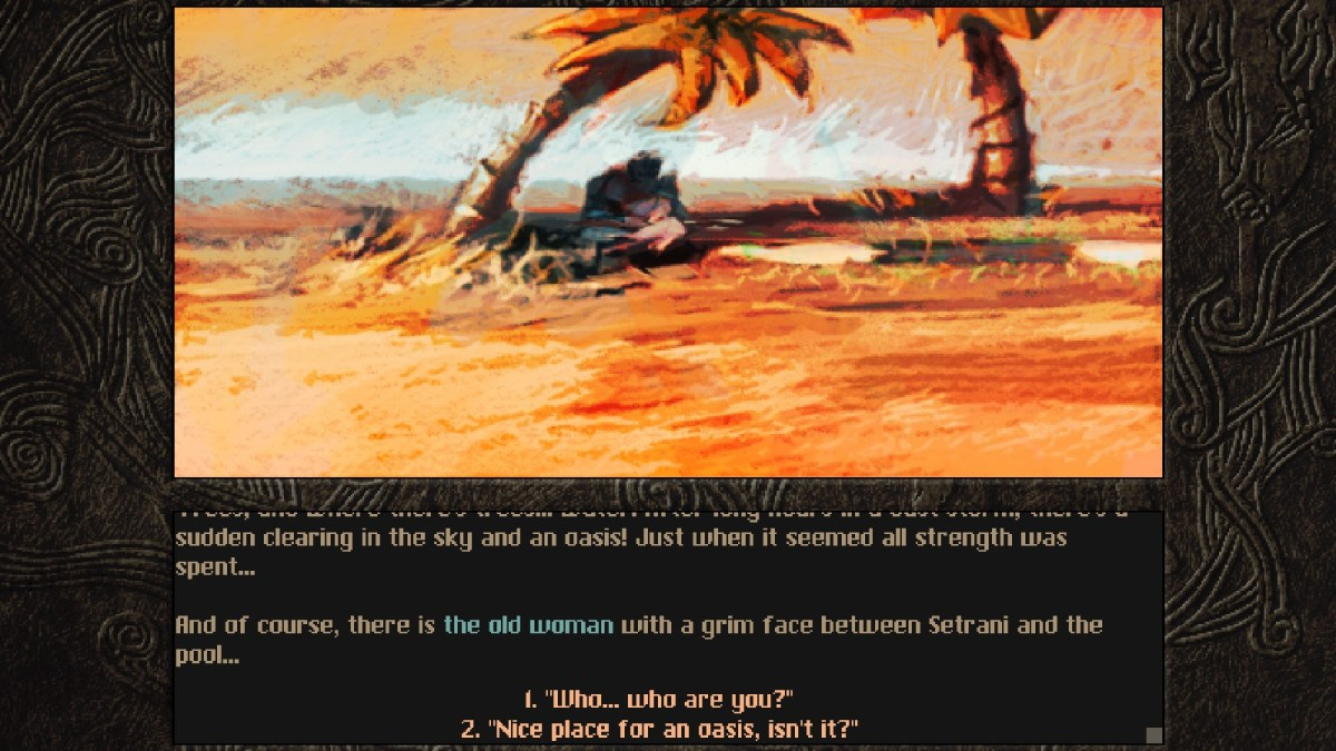 Aeons of sand Dungeon Crawling story 2