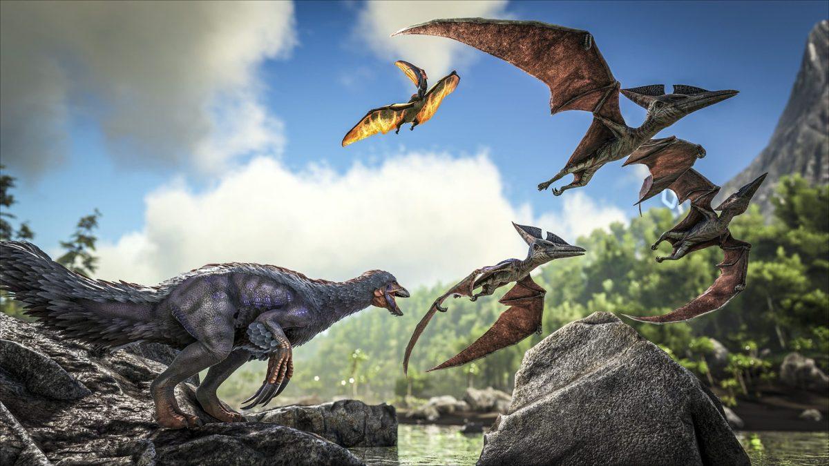 Ark dinosaurs