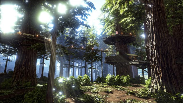 Ark Survival Evolved tree house