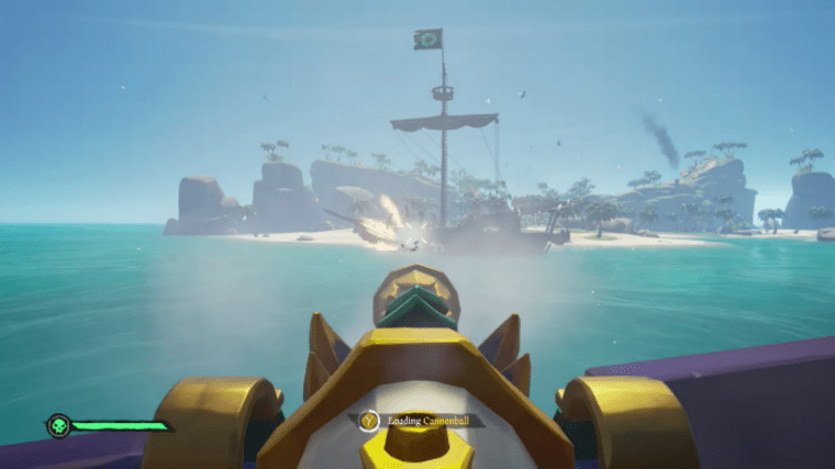 Sea of thieves ship battle 1