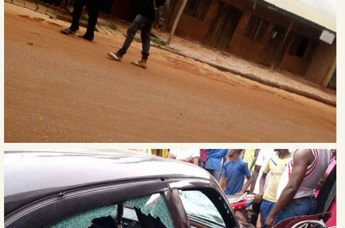 Crisis Over Revenue Collection Turns Bloody In Kogi, Properties Destroyed.Photos