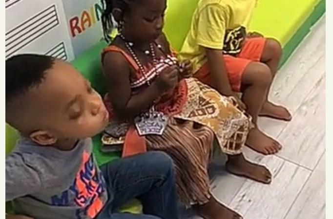 Davido And Sophia Momodu Celebrate Imade Adeleke's Birthday In  School  (Photos)