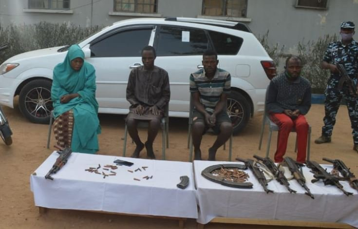 police-arrest-female-leader-of-notorious-kidnap-gang-3-others-in-kano