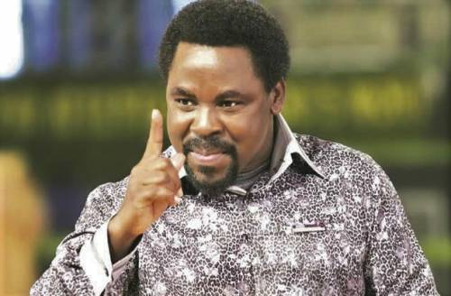 TB Joshua Died The Day He Asked For Bank Account To Pay N200m Ransom