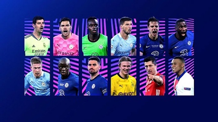 UEFA Releases Nominees for 2020/21 Champions League Awards (Full List)