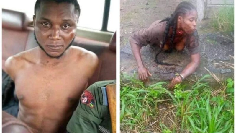 How Police Arrest Yahoo-Boy Who Attempts To 'Behead' Girlfriend For Ritual
