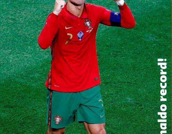 Ronaldo Breaks Ali Daei's Record For International Goals