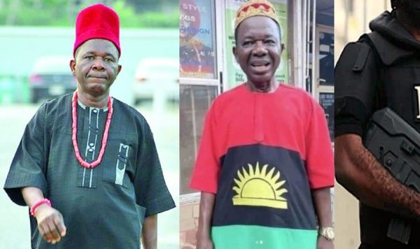 Soldiers manhandle Nollywood actor, Chiwetalu Agu for wearing Biafra outfit