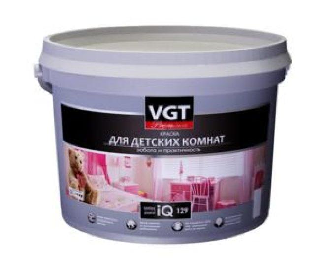 Краска для детских комнат VGT