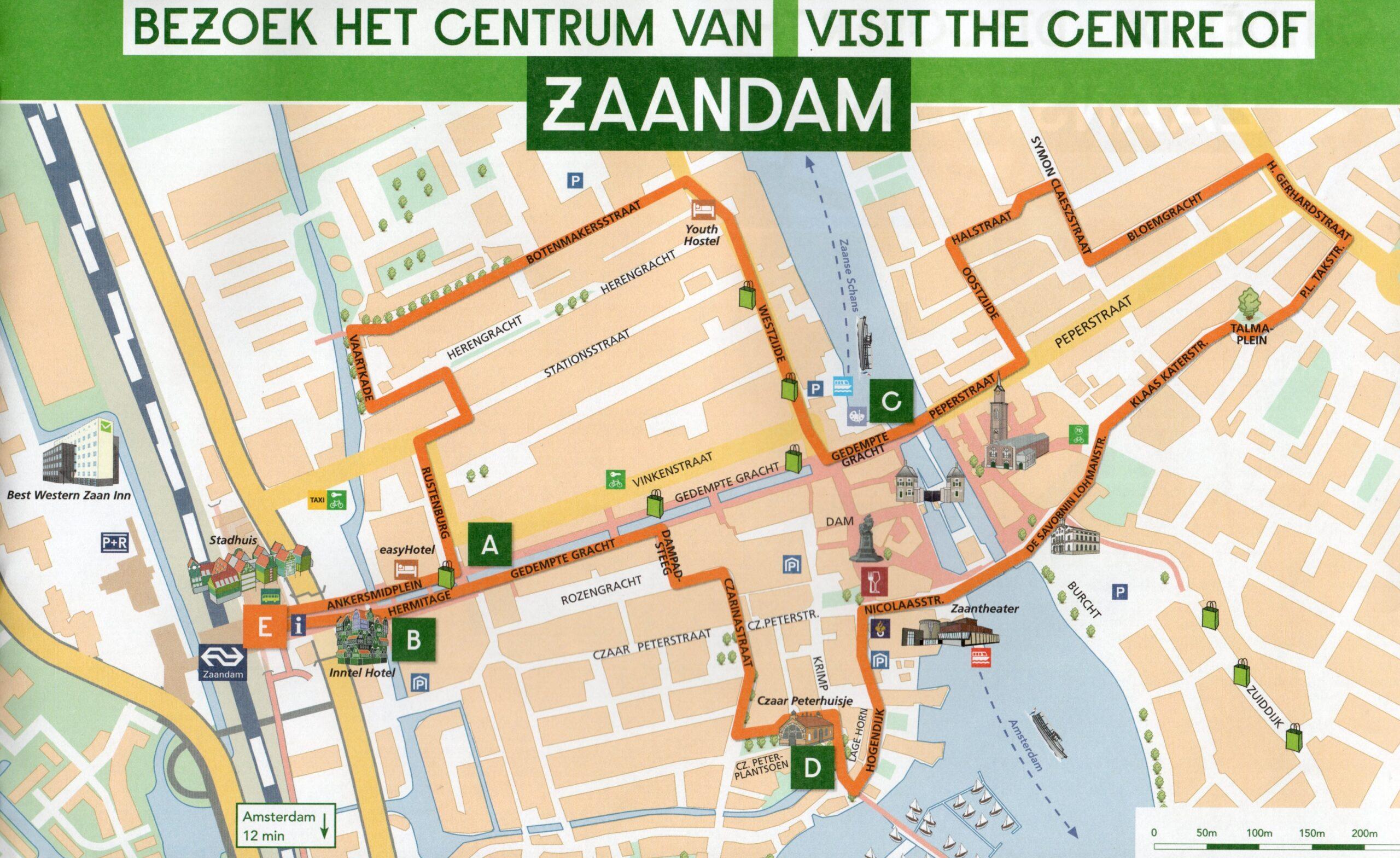 Bezoek het centrum van Zaandam
