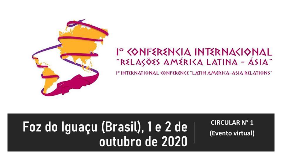 evento virtual 1 e 2 de outubro de 2020 1°Conferencia internacional
