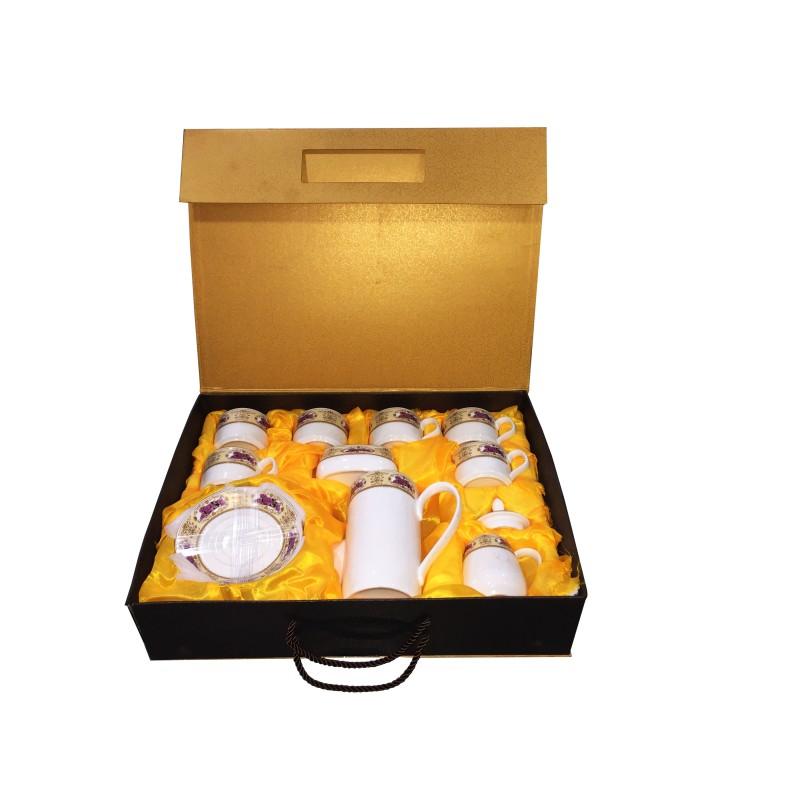 royal ceramics coffee set saucer with tea pot pur