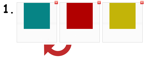 Convertio vytváří GIF.