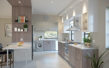 Duplex Homes Type B kitchen