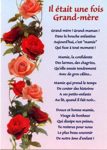 "Gif animé ""Bonne Fête Grand mère"""