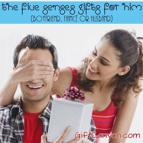 Romantic Five Senses Gifts For Him Boyfriend Fianc Or