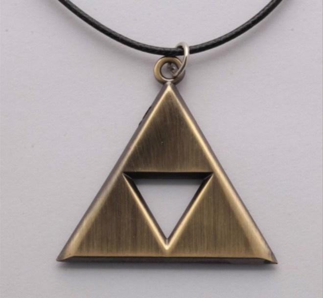 Triforce Necklace + More Legend of Zelda Stocking Stuffers
