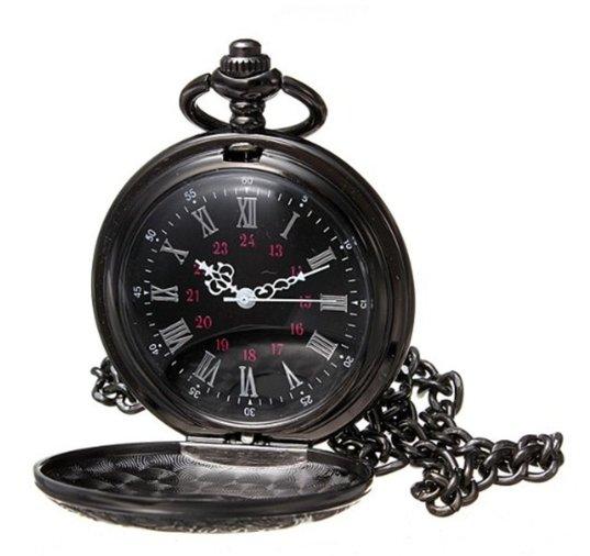Black Shiny Pocketwatch
