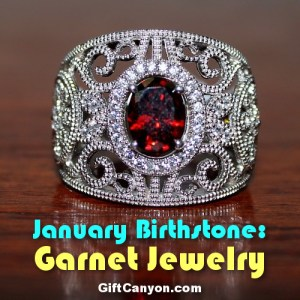 january birthstone garnet jewelry