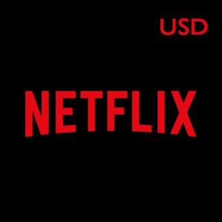 Netflix Gift Card (USD)