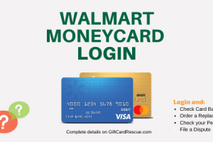 """How to Login to Walmart MoneyCard"""