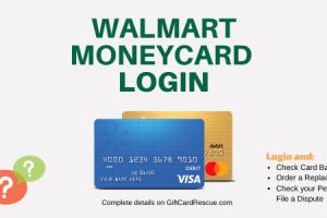 """How to Login to Walmart MoneyCard"""