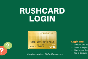 """How to Login to Rushcard Account"""