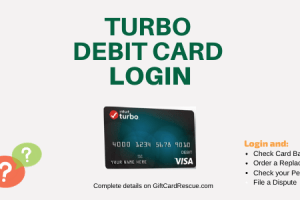 """How to Login to Turbo Debit Card"""