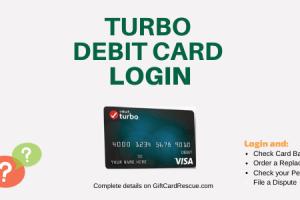 """How to Login to Turbo Debit Card"""