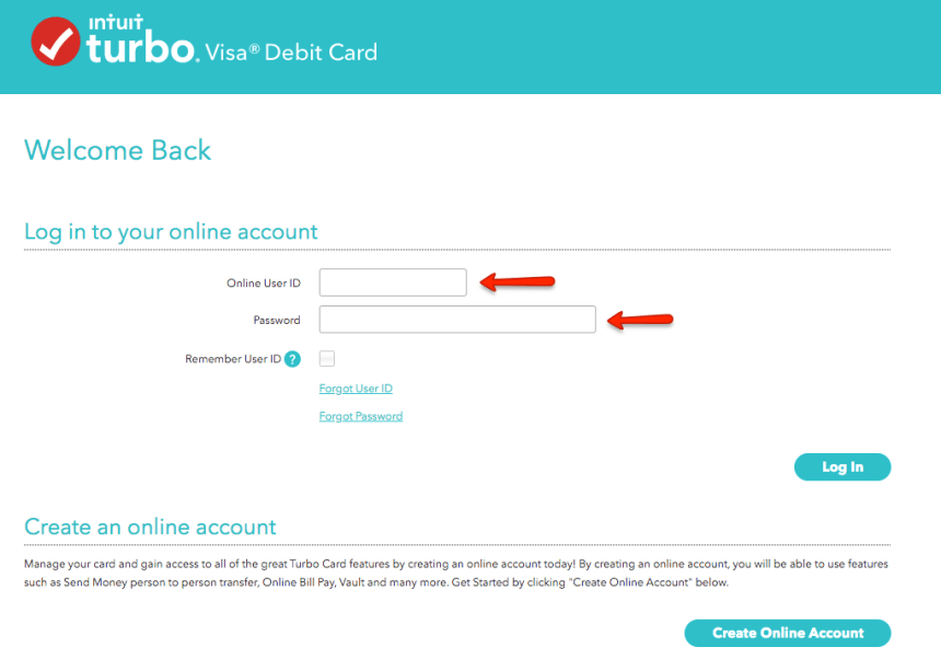"""How to Login to Turbo Debit Card account 1"""
