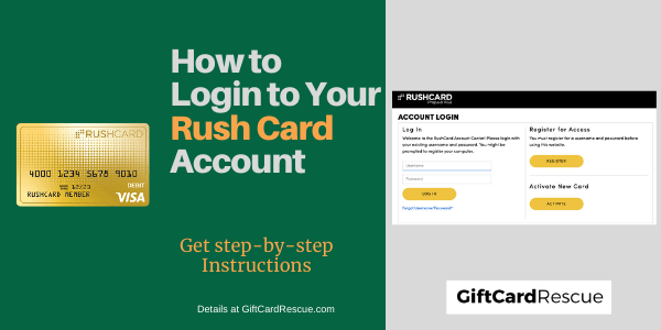 """Rushcard Login Help"""