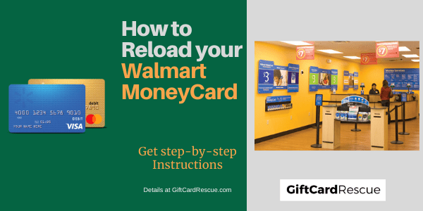 """How to Reload your Walmart MoneyCard"""