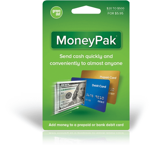 """Here's how to cash to AccountNow Card using Green Dot MoneyPak"""