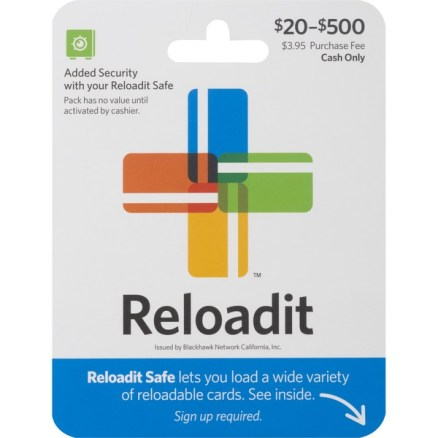 """Here's how add to cash to AccountNow Card using REloadit"""