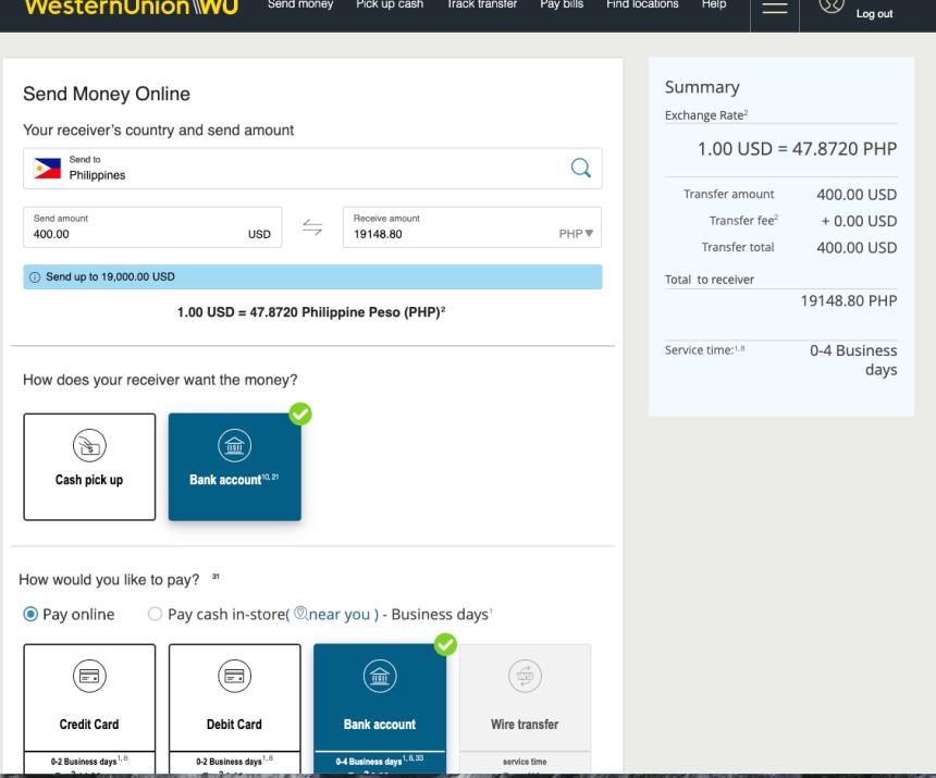 """Create Western Union Account Online - 4"""