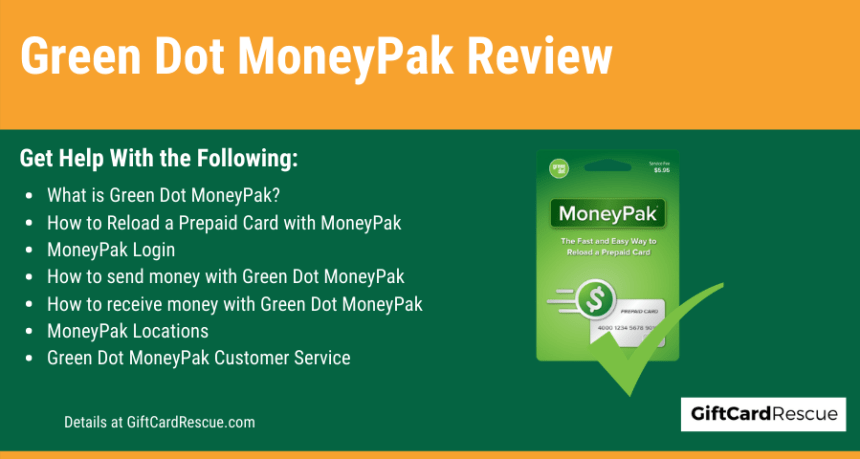 """Green Dot MoneyPak Review"""