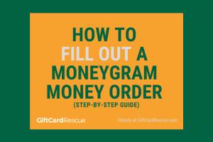"""""""Fill Out a MoneyGram Money Order"""""""