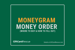 """MoneyGram Money Order"""