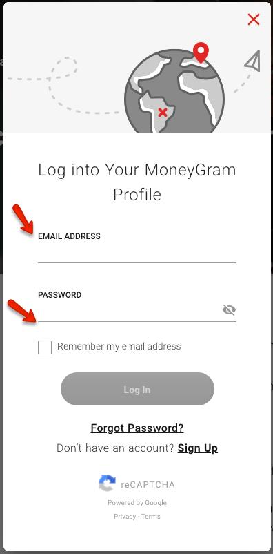 """""""Send MoneyGram online"""""""